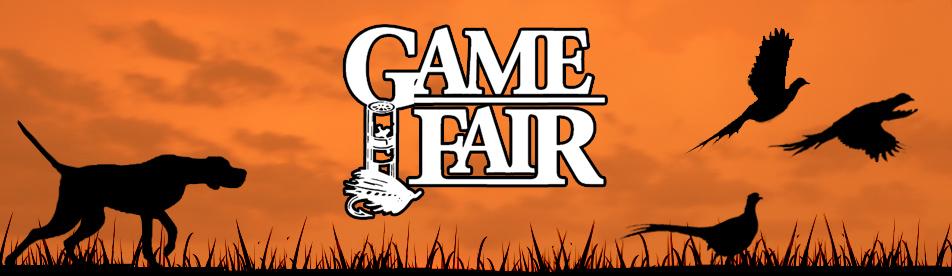 Game Fair banner